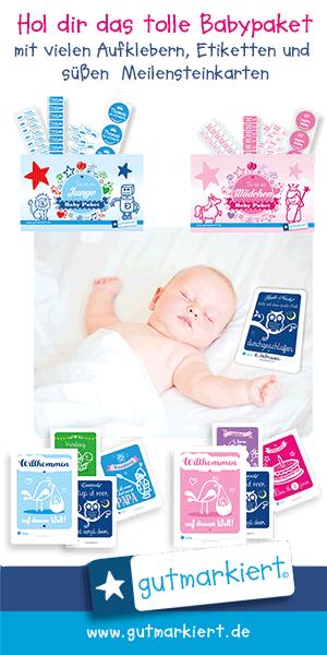 Gutmarkiert Babypaket - hier ansehen