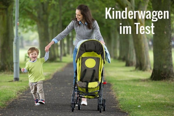 Kinderwagen im Test der Stiftung Warentest 2017 (© Thinkstock)