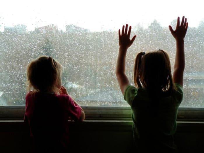Wenn Kinder Angst vor Gewitter haben