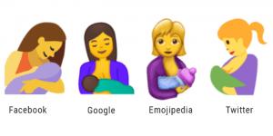 Das Still-Emoji kommt und setzt ein Zeichen für das Stillen