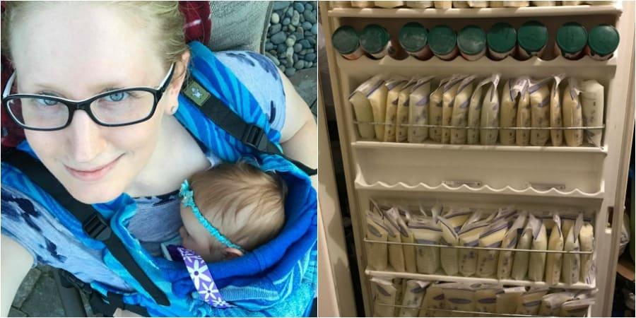 Hyperlaktation: Mutter spendet 6 Liter Muttermilch pro Tag (© Elisabeth Anderson-Sierra)