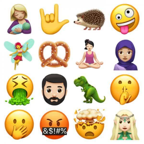 Neue Emojis: Apple bringt Update für iPhone iOS mit über 70 neuen Emojis