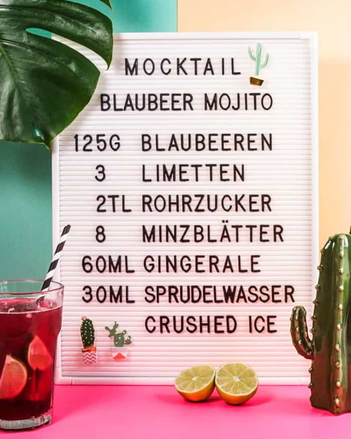 Mocktail - Rezept für alkoholfreien Mojito