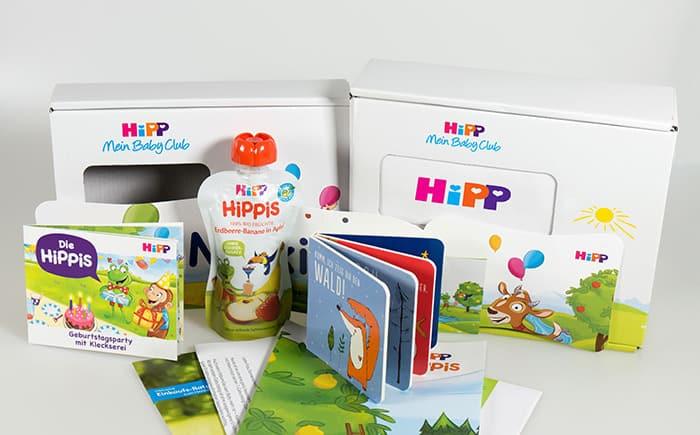 Hipp Babyclub Paket zum Geburtstag