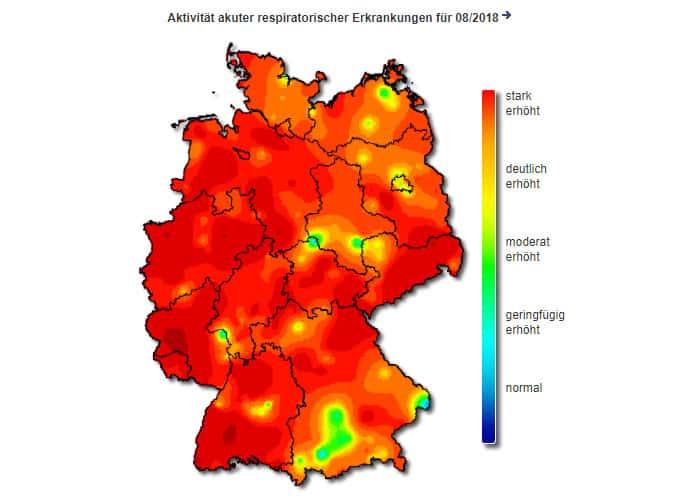 Grippewelle in Deutschland auf Höchststand (© Grafik RKI)