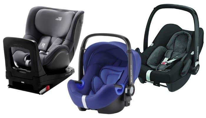 Kindersitze im Test 2018 - Britax Römer Swingfix i-Size, Kiddy Evoluna i-Size 2, Maxi-Cosi Rock und Britax RömerBaby-Safe2 i-Size gehören zu den Testsiegern