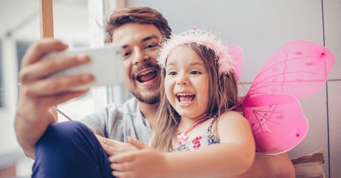 Neue Studie: Väter reden nur drei Minuten am Tag mit ihren Kindern, Mütter nur acht (Getty Images)