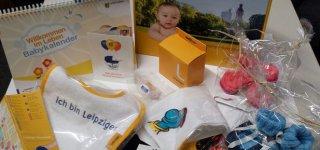 Die Überraschungsbox für alle Leipziger Eltern und Babys (© Stadt Leipzig)