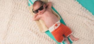 Abkühlung - die besten Tipps für Baby und Kleinkinder bei Hitze (© Thinkstock)
