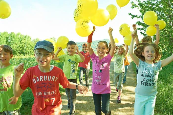 Die Klasse 2000 sorgt für gesunde Stimmung in Grundschulen (© Klasse 2000 / Presse)
