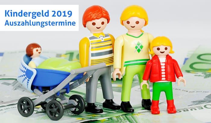 Kindergeld - Auszahlungstermine 2019 ©Thinkstock