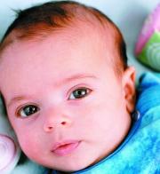 Baby im 3. Monat
