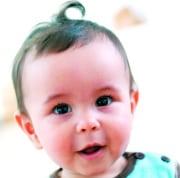 8 Monate altes Baby